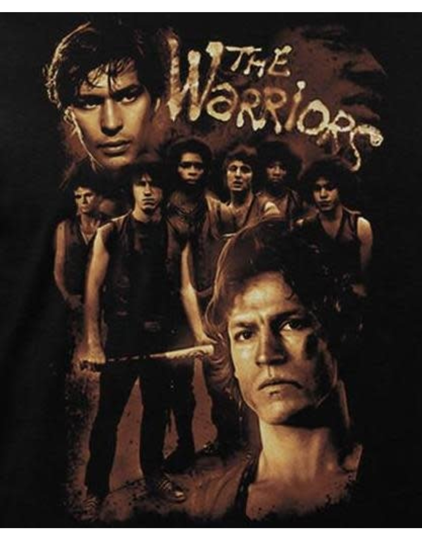 Warriors Collage Shirt