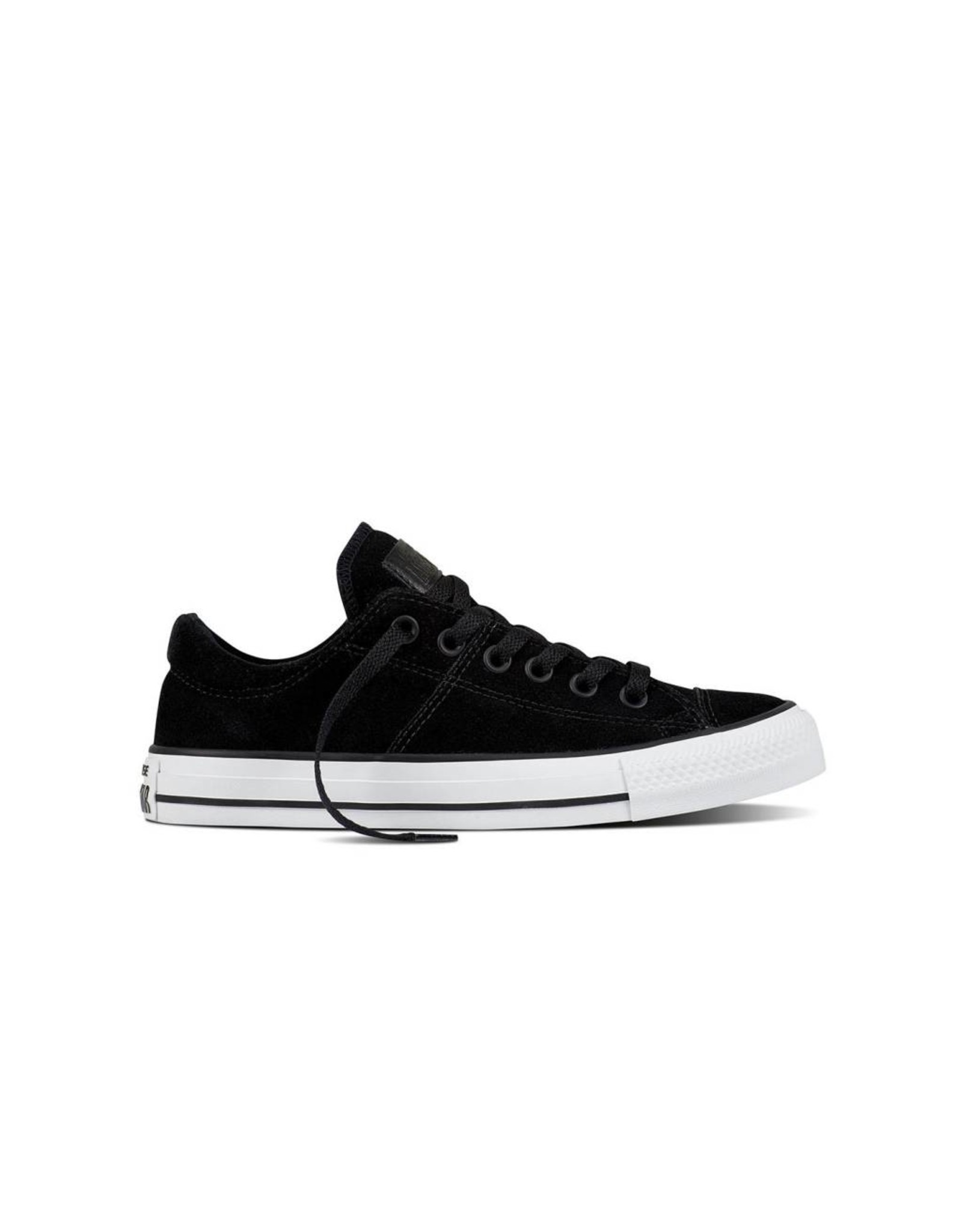 CONVERSE CHUCK TAYLOR MADISON OX SUEDE BLACK/BLACK/WHITE CS11B-557978C