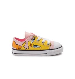 CONVERSE CHUCK TAYLOR OX VAPOR PINK/WHITE/BLACK LOONEY TUNES CQTWE-758237F