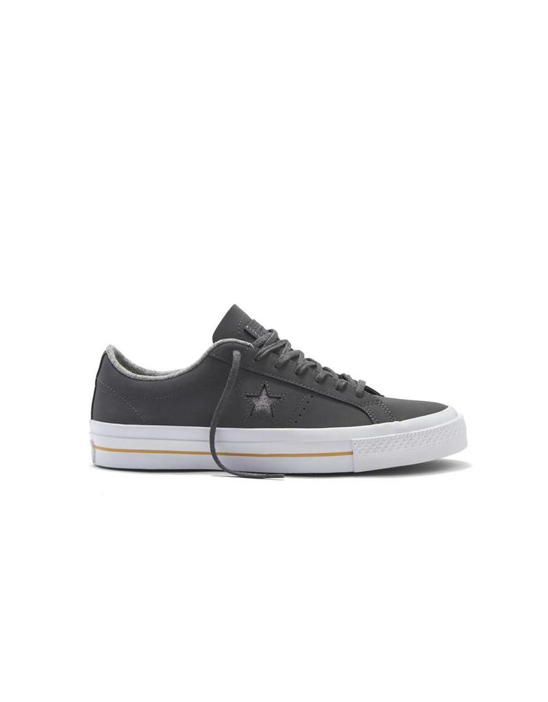 CONVERSE ONE STAR NUBUCK OX THUNDER/ASH GREY/GUM -153719C