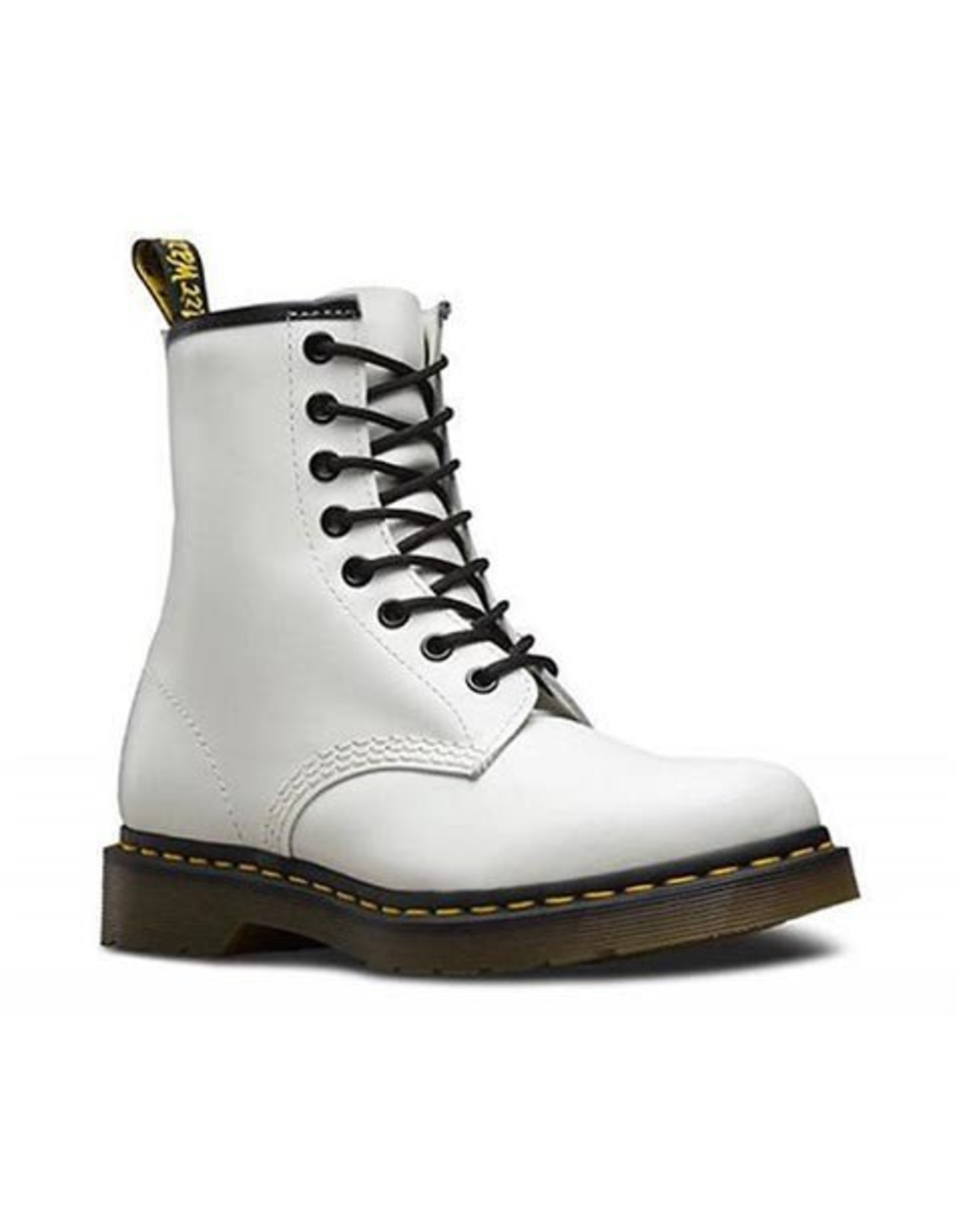 DR. MARTENS 1460W WHITE SMOOTH 815W-R11821100