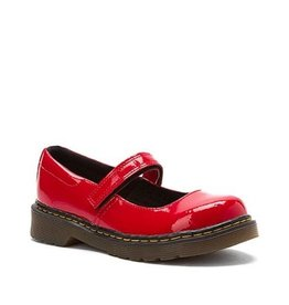 DR. MARTENS TULLY INFANTS MARY JANE RED PATENT YM2PR-R15654601