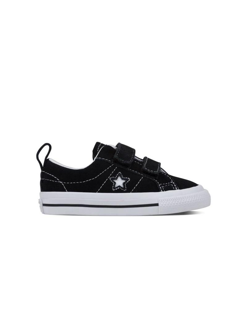 CONVERSE ONE STAR 2V OX BLACK/WHITE CQVOB-756131C