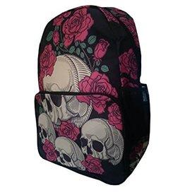 BANNED Skulls & Roses Beige/Black