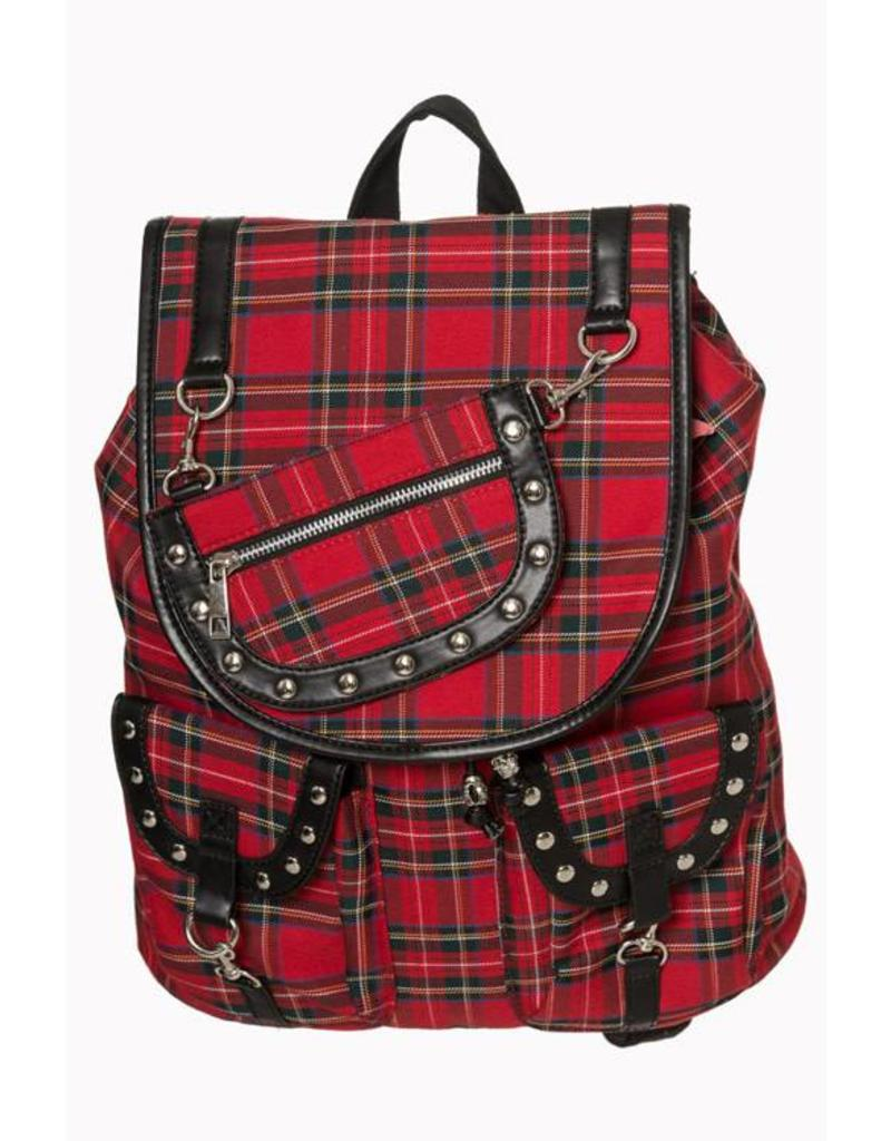 BANNED Banned Yamy Tartan BackPack