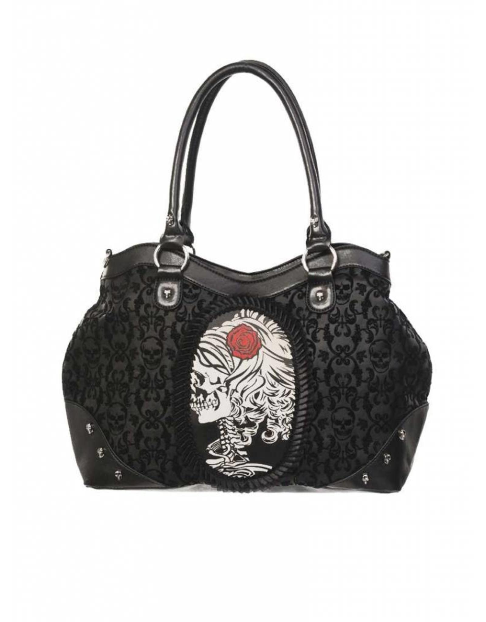 BANNED - Cameo Lady Rose Handbag