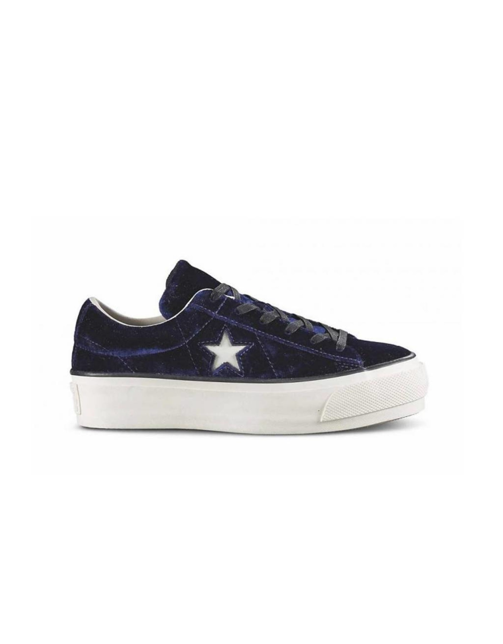 CONVERSE ONE STAR PLATFORM OX ECLIPSE BLUE/EGRET C787PFBL-558952C