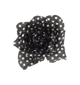SOURPUSS SOURPUSS - Polka Dot Flower Hair Clip