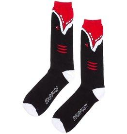 SOURPUSS - Black Shark Guy Socks