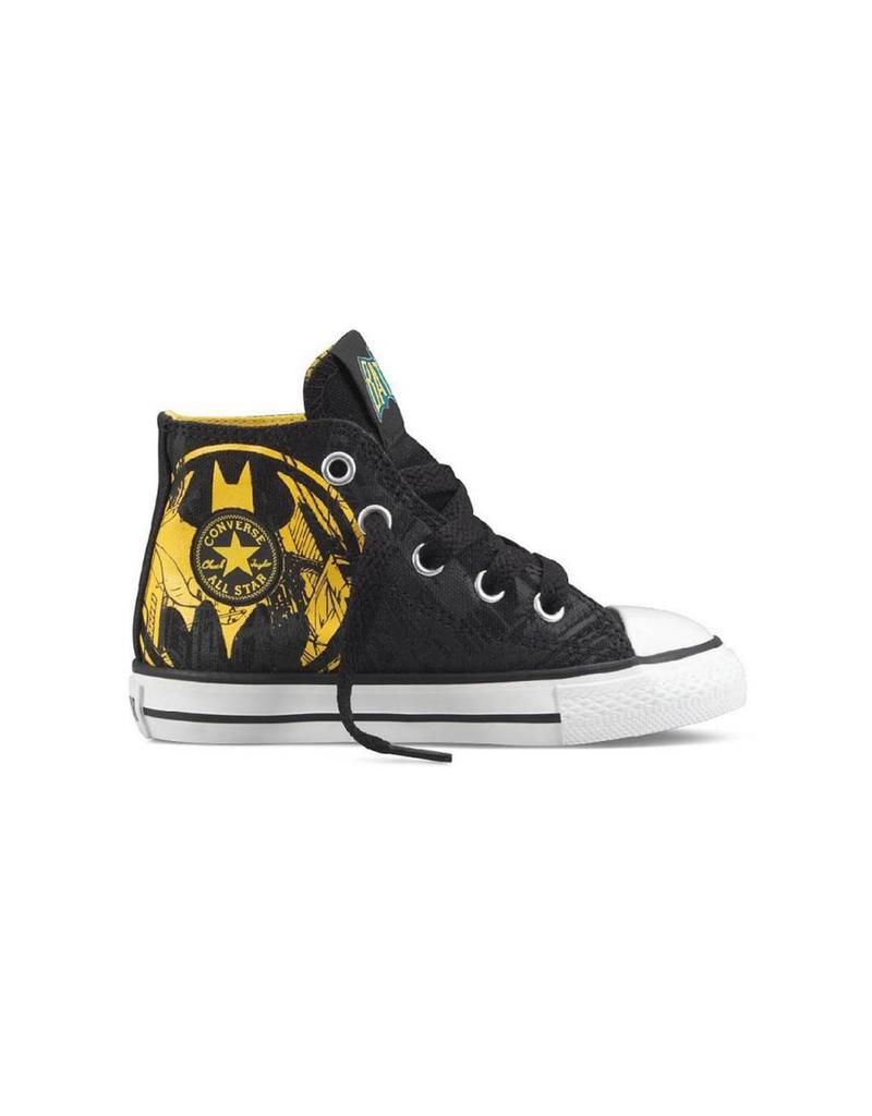 CONVERSE INFANT CHUCK TAYLOR HI BLACK BATMAN CLBBY-719939