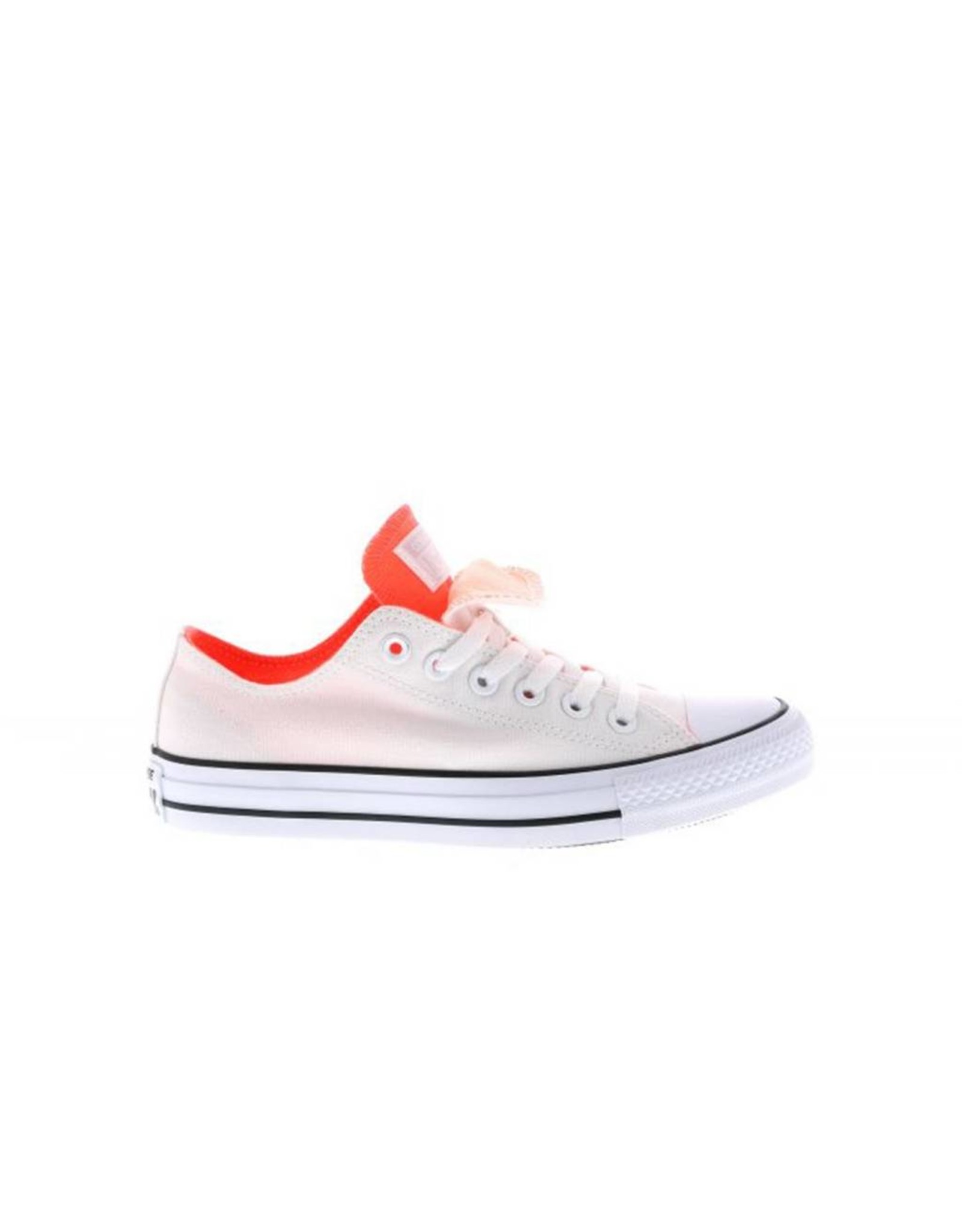 CONVERSE CHUCK TAYLOR DOUBLE TONGUE OX WHITE/HYPER ORANGE C11DW-556679F