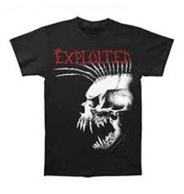 Exploited Profile Skull Mohawk Shirt