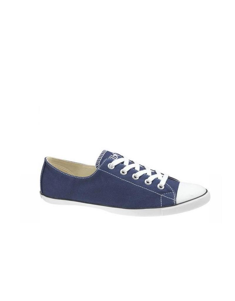 Converse Blue All Star Light Ox in Navy