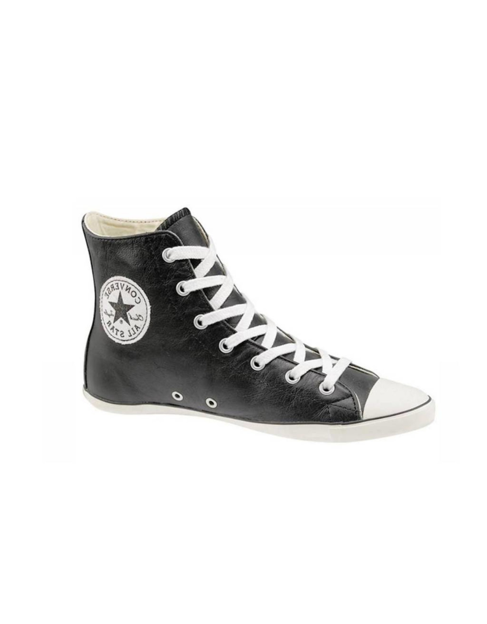 CONVERSE Chuck Taylor All Star LIGHT CUIR HI BLACK CC8LB-505615