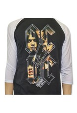 ACDC Highway to Hell (Letters) Baseball Shirt