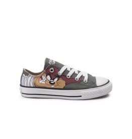 CONVERSE CHUCK TAYLOR OX OLIVE SUBMARINE/WHITE/BLACK LOONEY TUNES CWTAZ-358236F