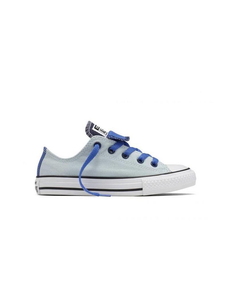 CONVERSE CHUCK TAYLOR DOUBLE TONGUE OX BLUE/BLUE/WHITE CVDBB-654225C