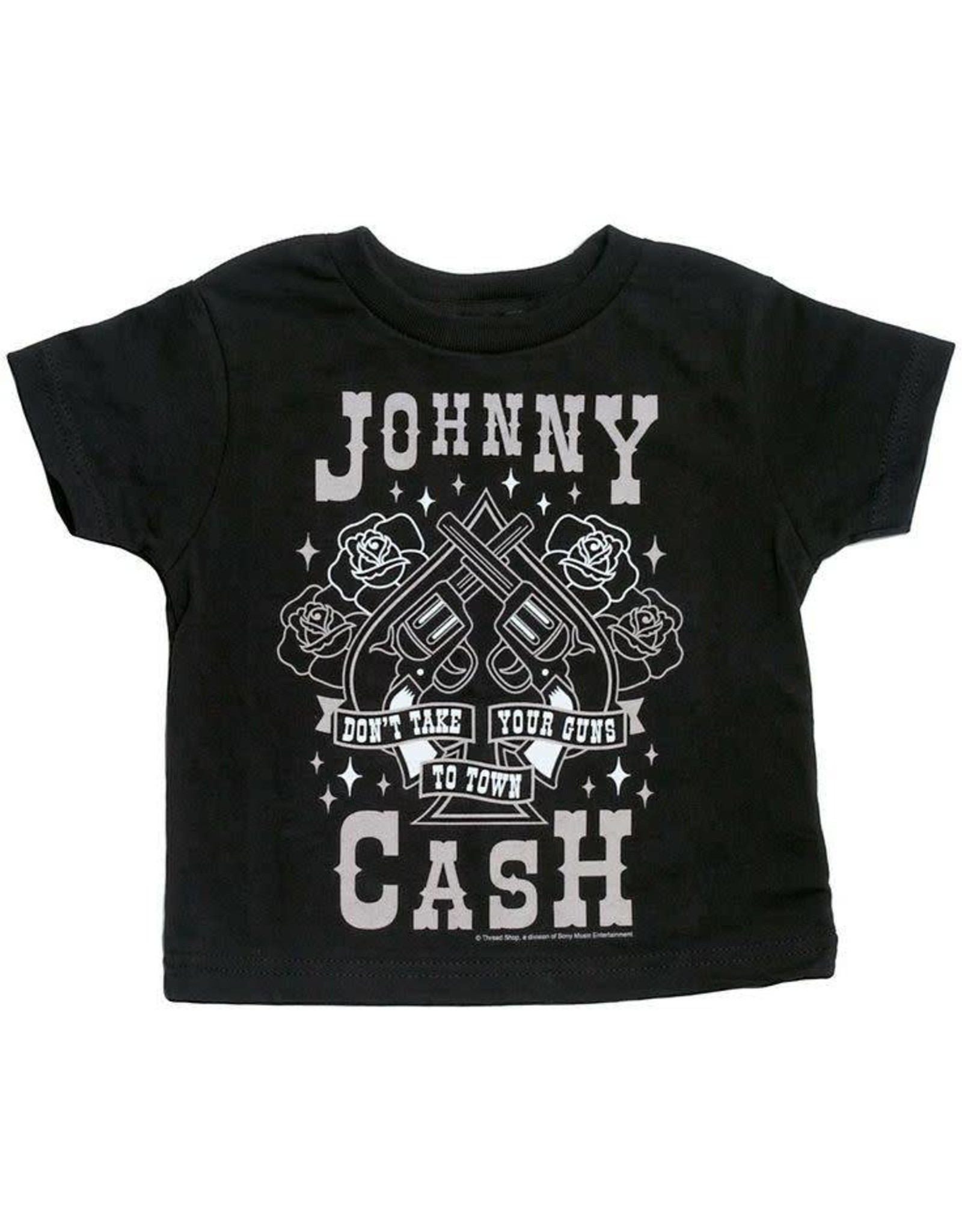 "SOURPUSS - Tee Johnny Cash ""Don't Take Your Guns To Town"""