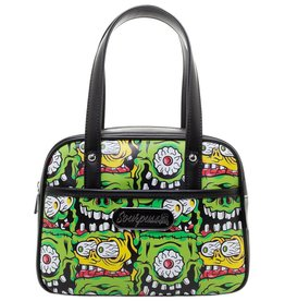 SOURPUSS - Mini Fink Faces Bowler Bag
