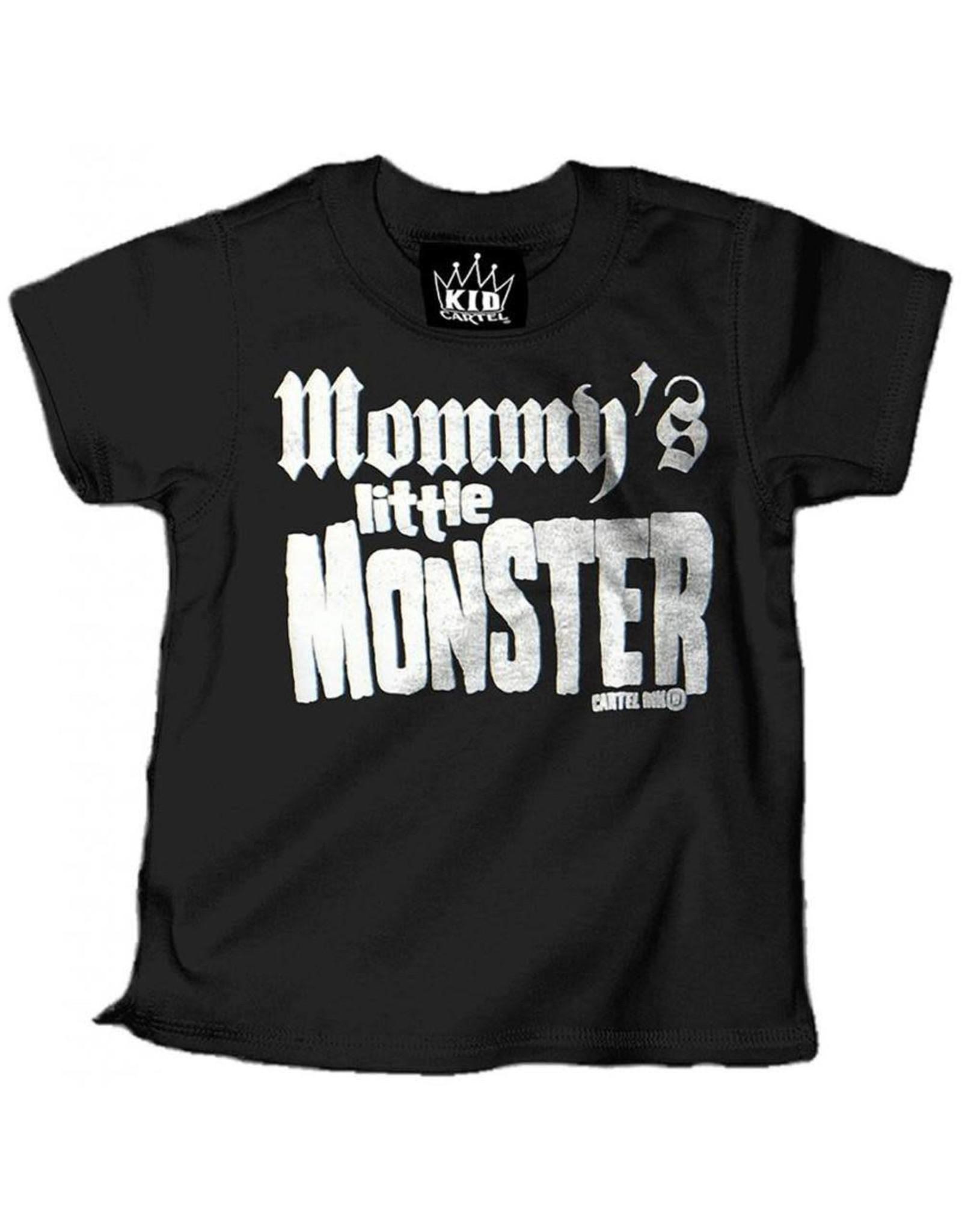 CARTEL INK CARTEL INK - Mommy's Little Monster Tee