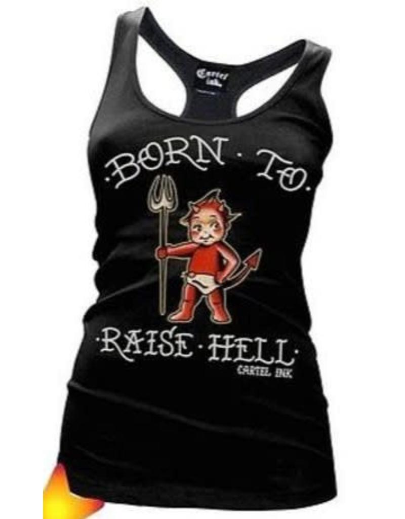 CARTEL INK - Born To Raise Hell Racerback Tank