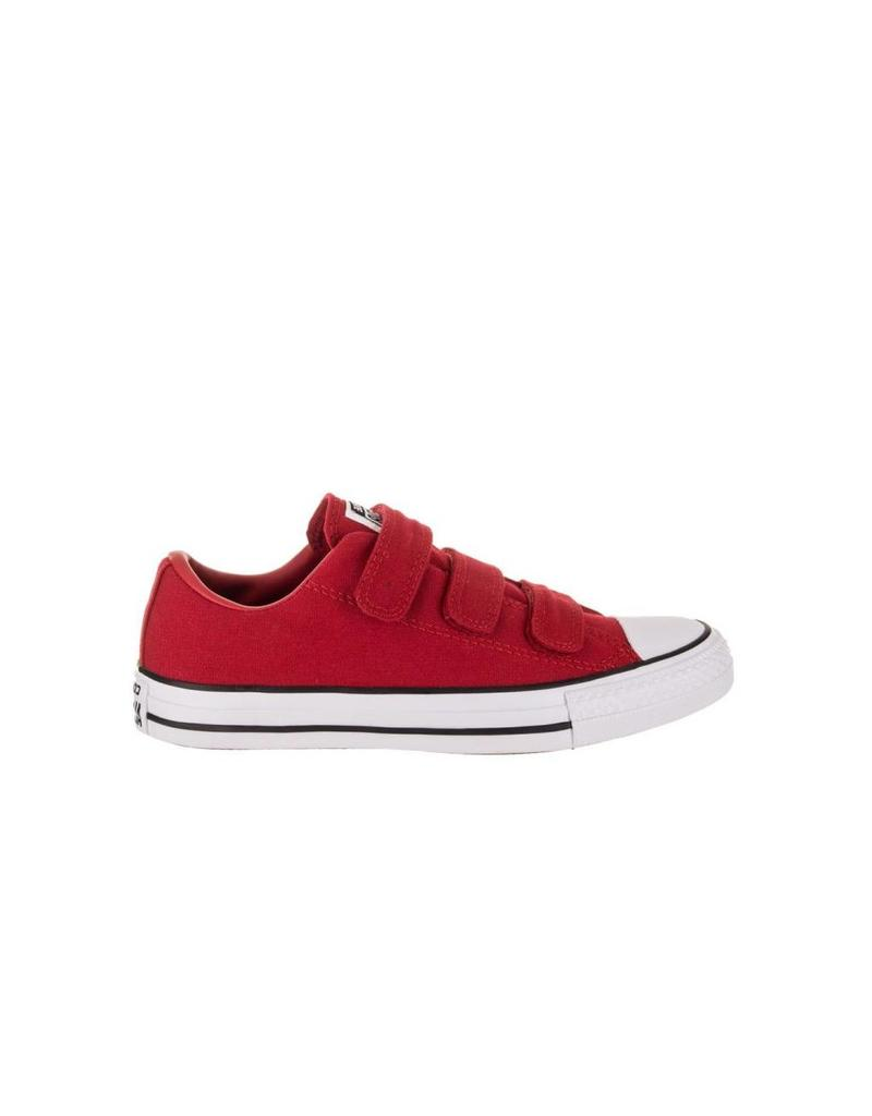 CONVERSE CHUCK TAYLOR 3V OX ENAMEL RED/ENAMEL RED/WHITE C12VER-559926C