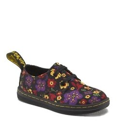DR. MARTENS KACY INFANTS LACE BLACK GARDEN CANVAS Y229FL-R16221002