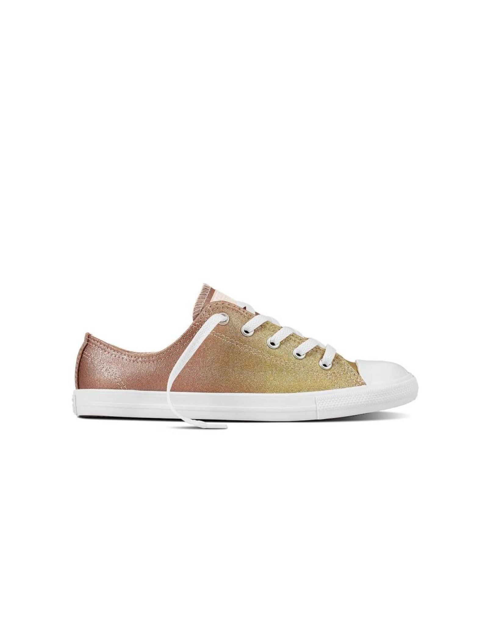converse beige gold