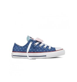 CONVERSE CHUCK TAYLOR DOUBLE TONGUE OX NIGHTFALL BLUE CYDNI-660714C