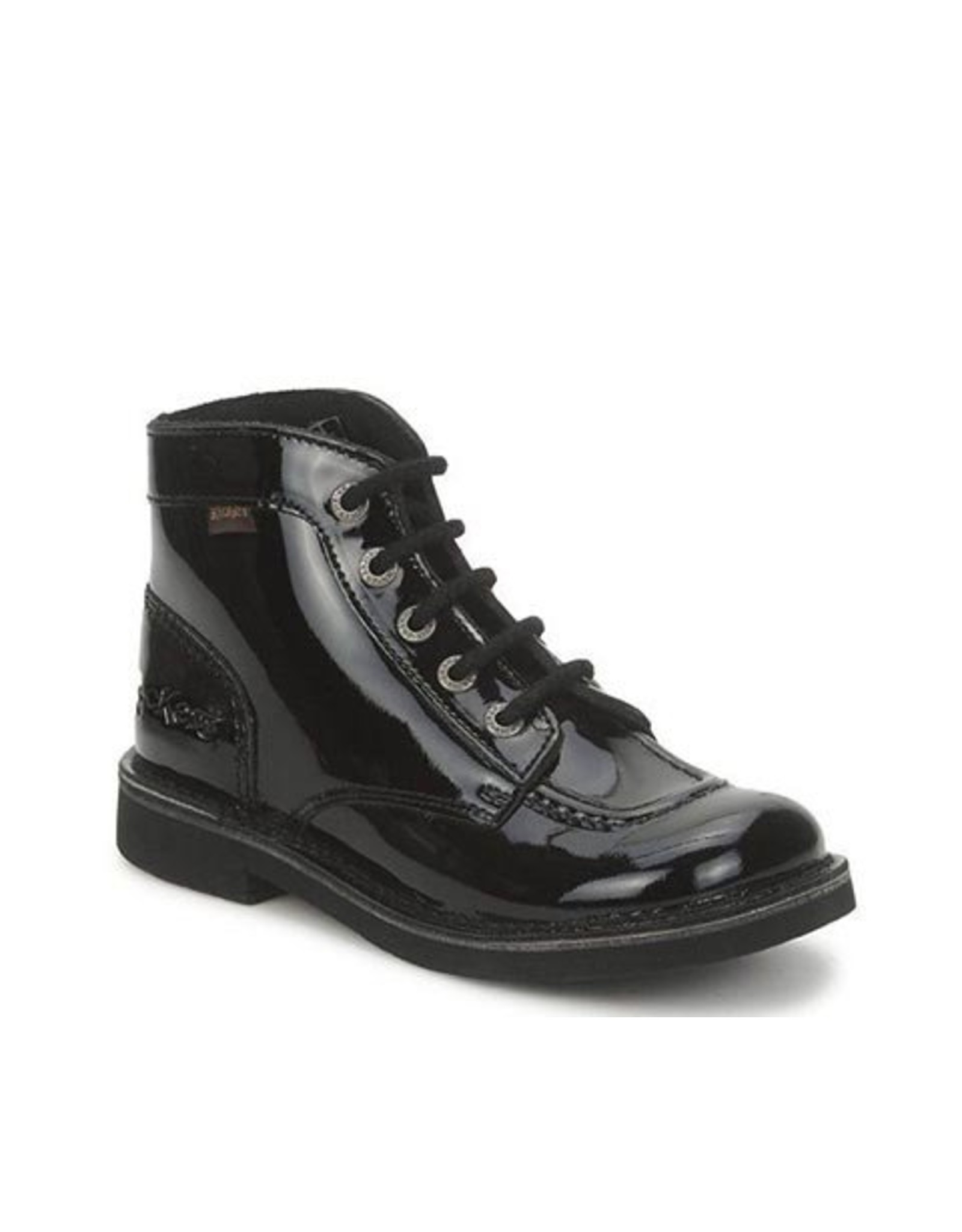 KICKERS KICK COL BLACK SHINY K1585PB