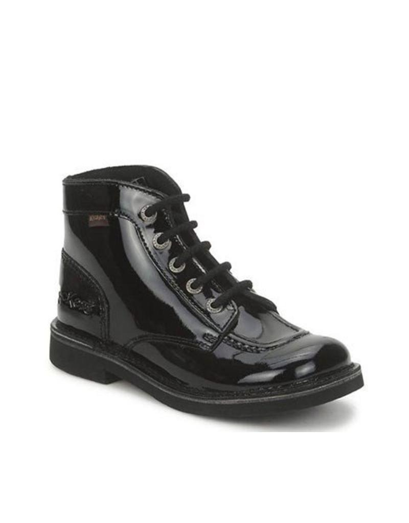 KICKERS KICK COL BLACK SHINY K1585PB
