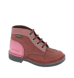 KICKERS KICK COL BURGUNDY FUSCHIA K1485BO