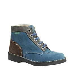 KICKERS KICK COD BLUE GREY K86BG