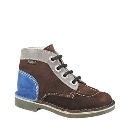 KICKERS KICK COD BROWN BLUE K1386MB
