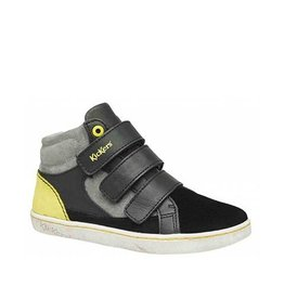 KICKERS LYNUX BLACK YELLOW KN53NJ