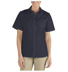 DICKIES Women`s Short Sleeve Stretch Work Shirt FS136