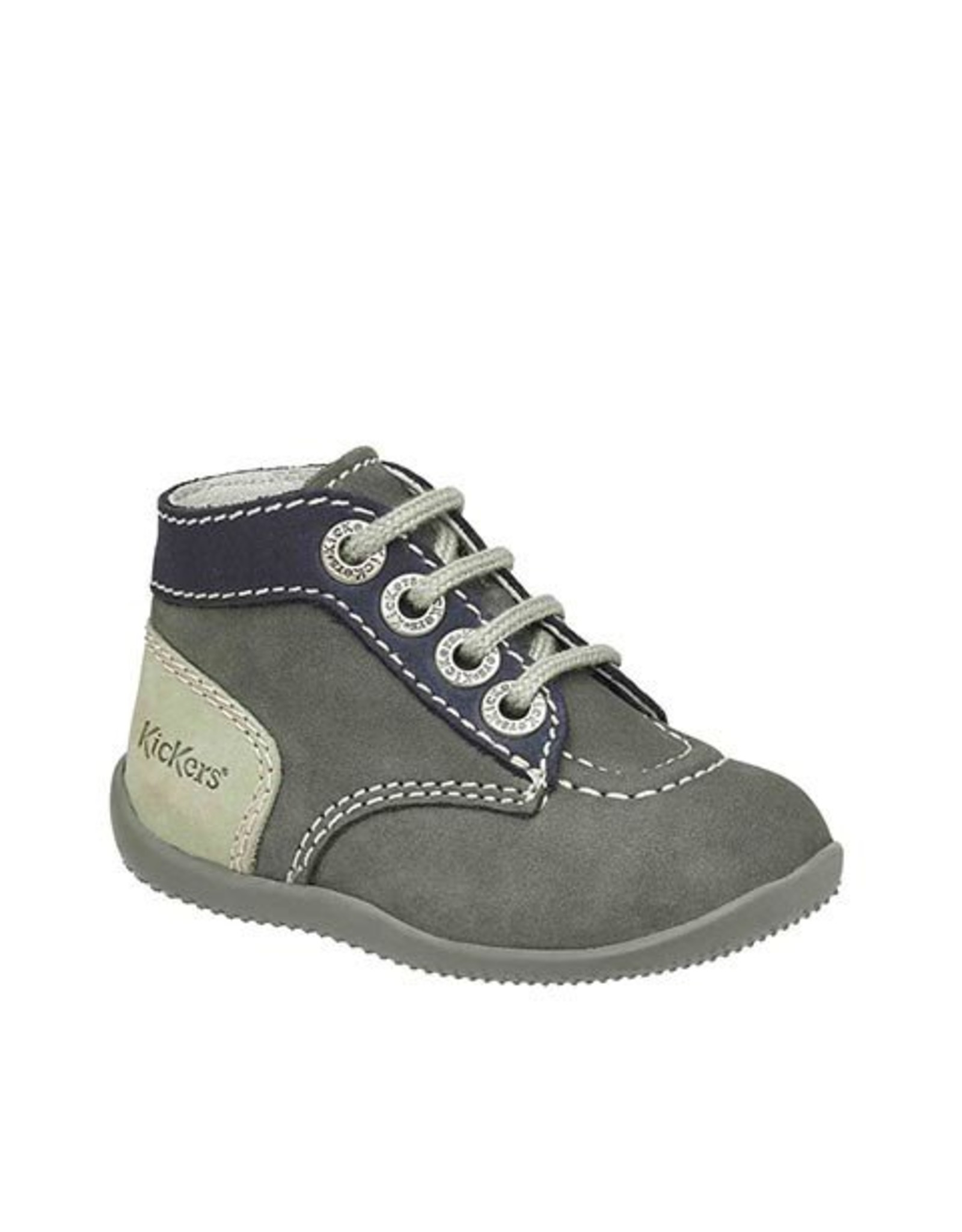 KICKERS BONBON GRAY NAVY GRAY CLEAR KN3GM