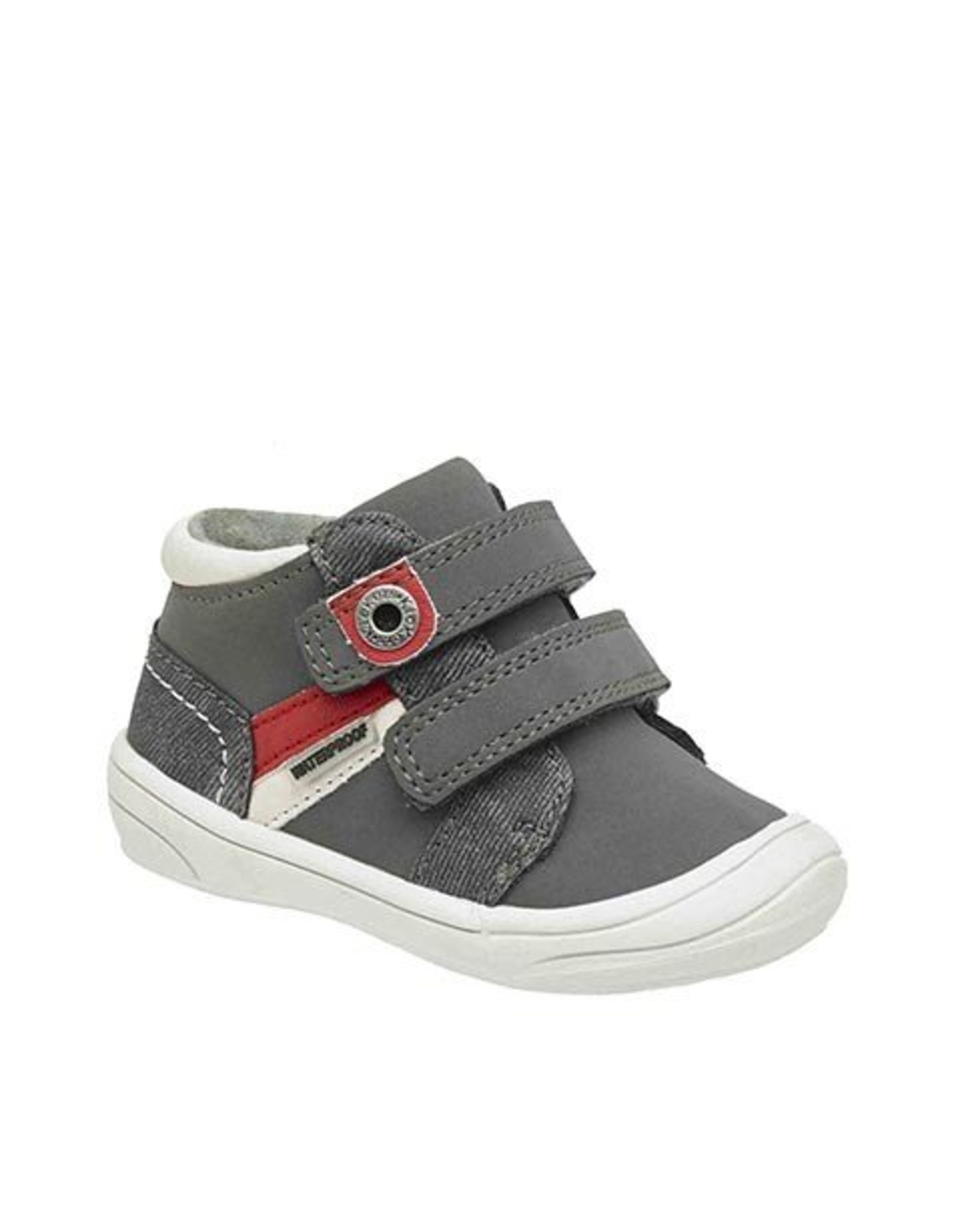 KICKERS ZYVA WPF GRAY RED KN48GR