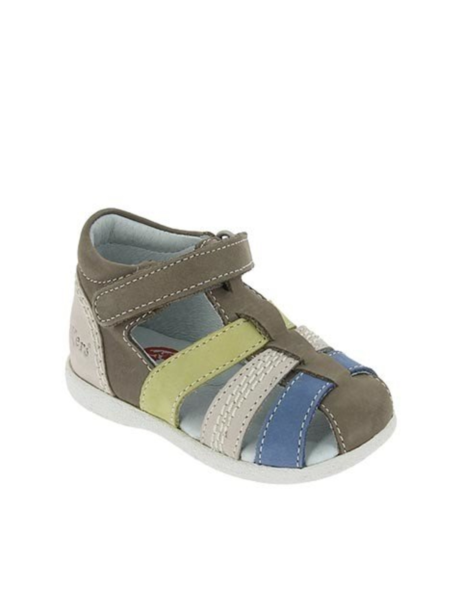 KICKERS BABYSUN GREY GREEN KM31GV