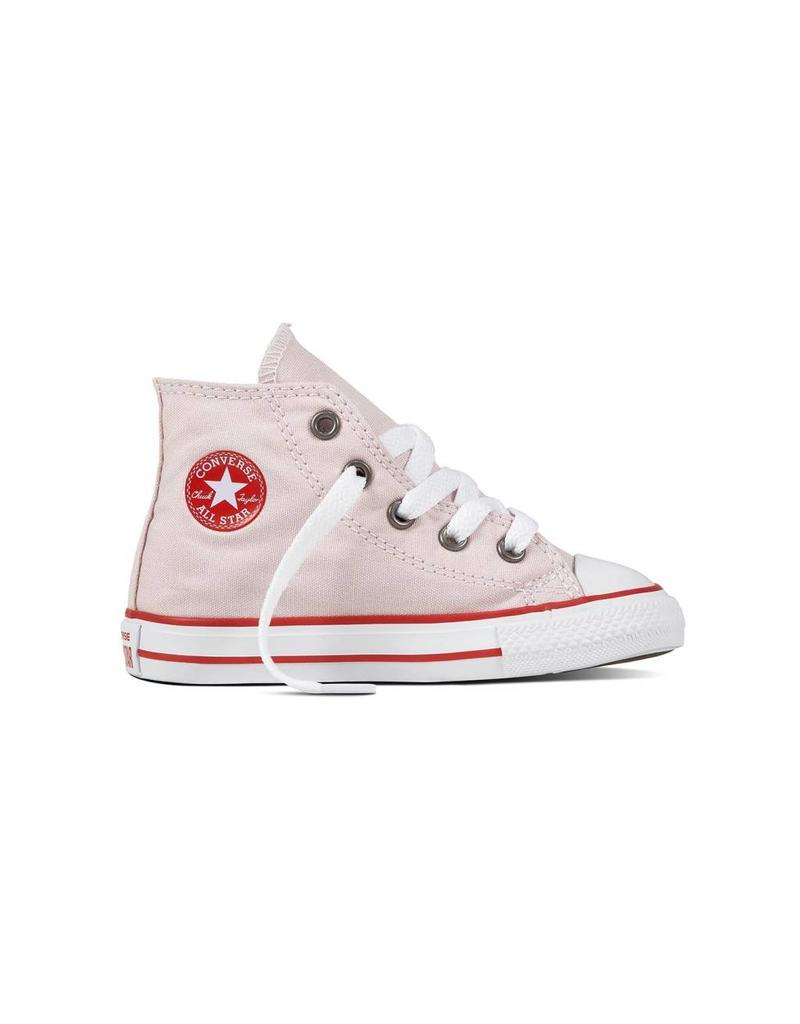CONVERSE CHUCK TAYLOR HI BARELY ROSE/ENAMEL RED/WHITE CRBAP-760098C