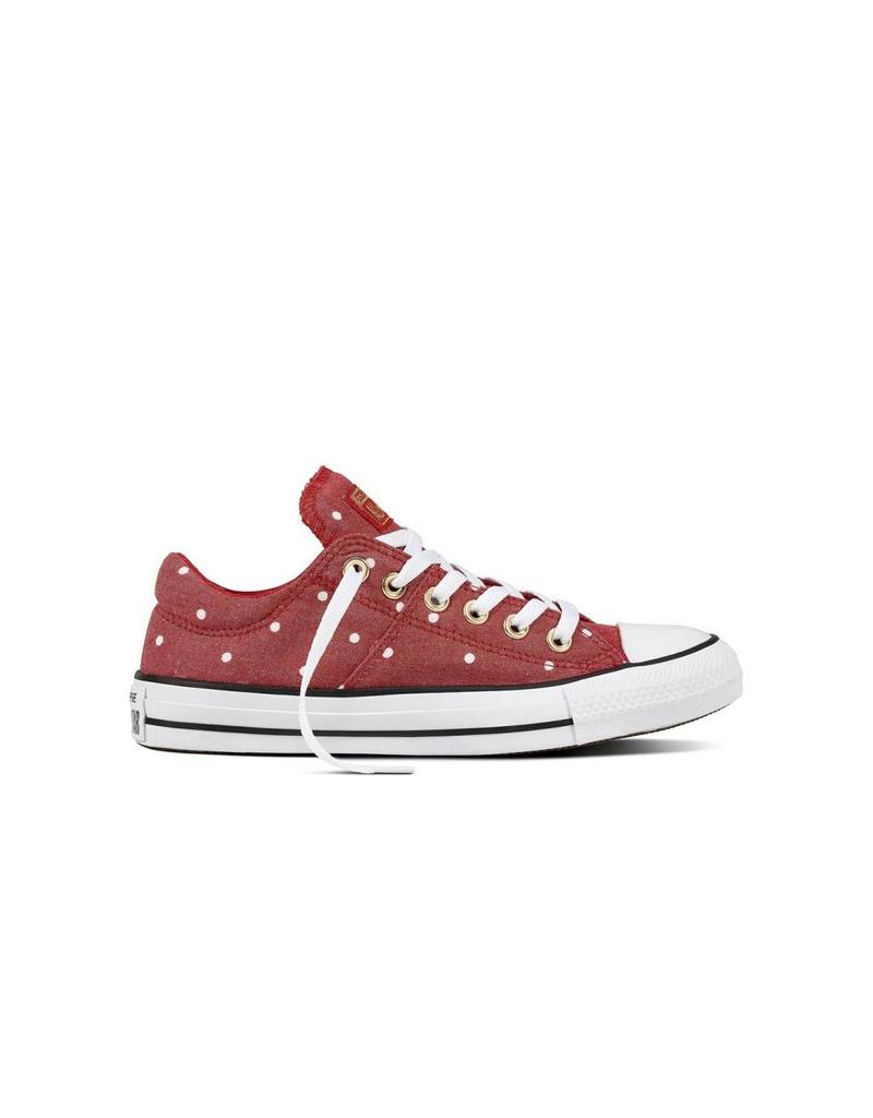 CONVERSE CHUCK TAYLOR MADISON OX GYM RED/GOLD/WHITE C12MR-560690C