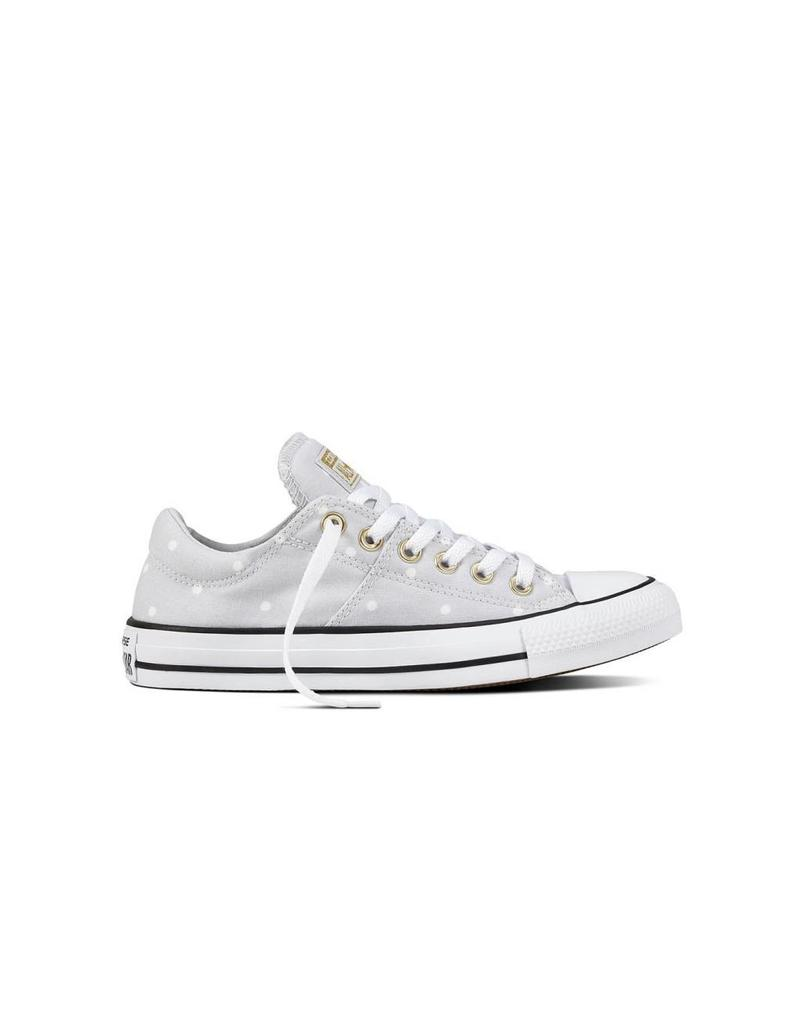CONVERSE CHUCK TAYLOR MADISON OX PURE PLATINUM/GOLD/WHITE C12MP -560689C