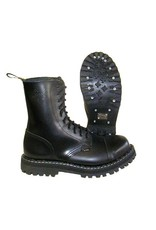 STEEL BOOT 10 EYELETS BLACK CAP S1000B
