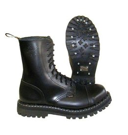 STEEL BOOT 10 EYELETS BLACK CAP S1000B