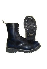 STEEL BOOT 10 EYELETS NAVY RUB OFF CAP S1000N