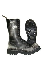 STEEL BOOT 15 EYELETS WHITE RUB OFF CAP S1500BW