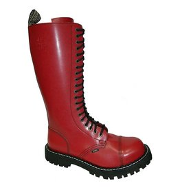 STEEL BOOT 20 EYELETS FULL RED CAP S2000FR