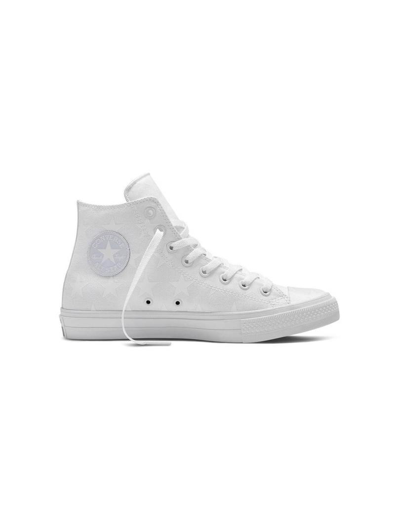 CONVERSE Chuck Taylor All Star  II HI WHITE SILVER WHITE CT2HTAR-151158C