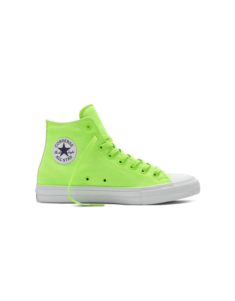 CONVERSE Chuck Taylor All Star  II HI GREEN GECKO NAVY WHITE CT2HNE-151118C