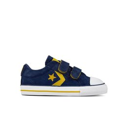 CONVERSE STAR PLAYER EV 2V OX NAVY/MINERAL YELLOW CRVN-760035C